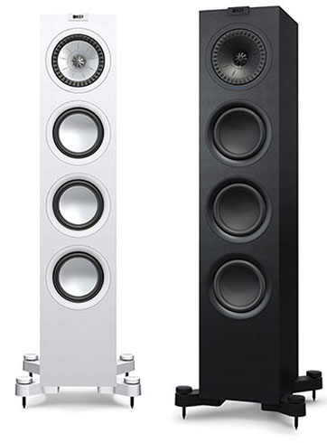 KEF Q black and white